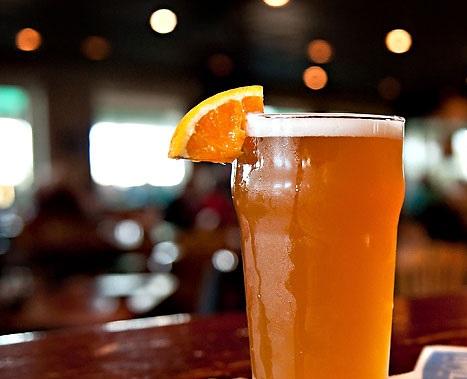 Cervejas com laranja