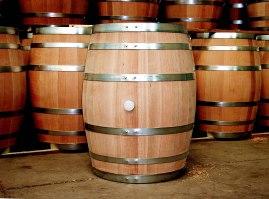 Oak-wine-barrel-at-toneleria-nacional-chile